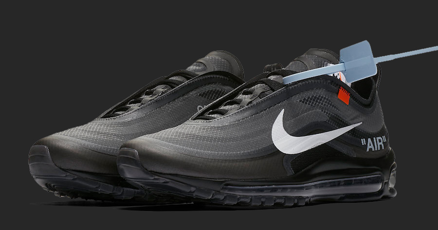 The Black OFF-WHITE x Nike Air Max 97 Drops Next Month!