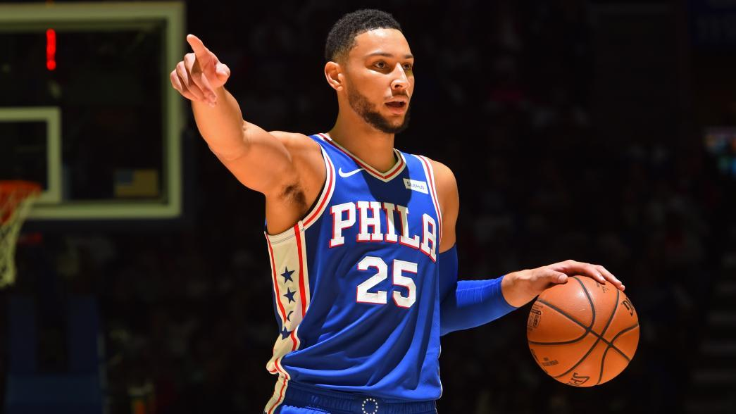 These Screenshots of Ben Simmons Being Unguarded Show Exactly What's Wrong With the Sixers Offense