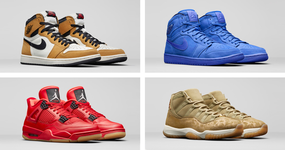 Jordan Brand Unveils it's Women's Holiday Lineup for 2018