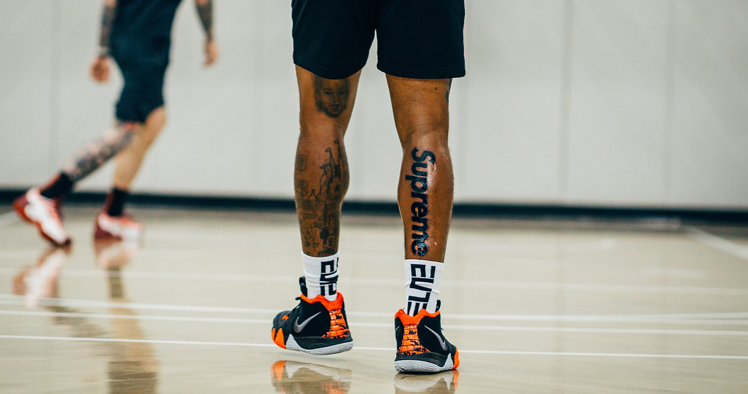 The NBA is Going to Fine JR Smith Every Game if he Doesn't Cover Up his Supreme Tattoo