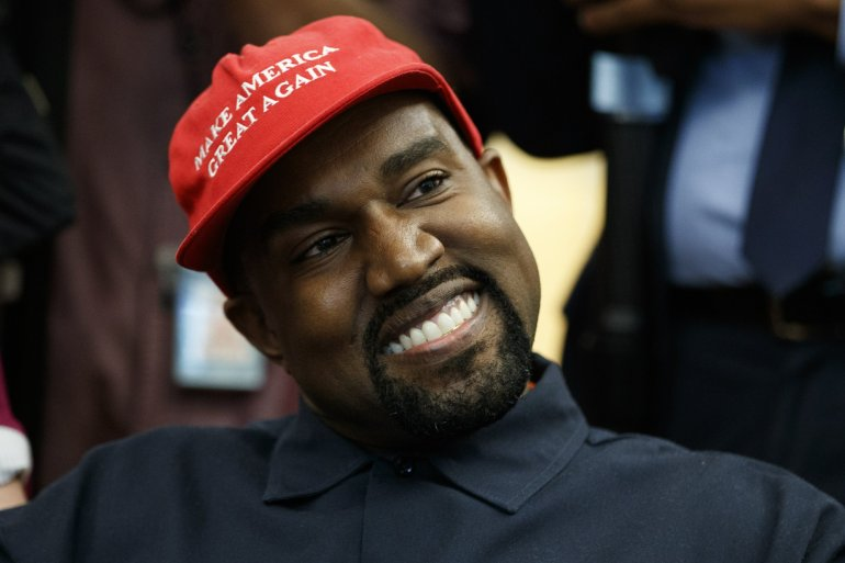"""Watch Kanye West inform Donald Trump of the """"YEEZY Effect"""""""