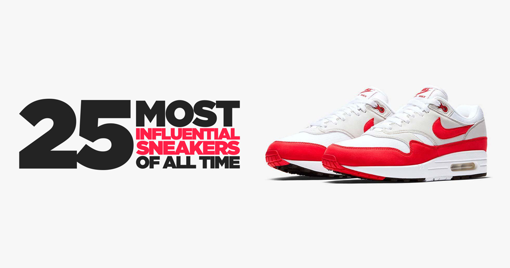 The 25 Most Influential Sneakers of All Time