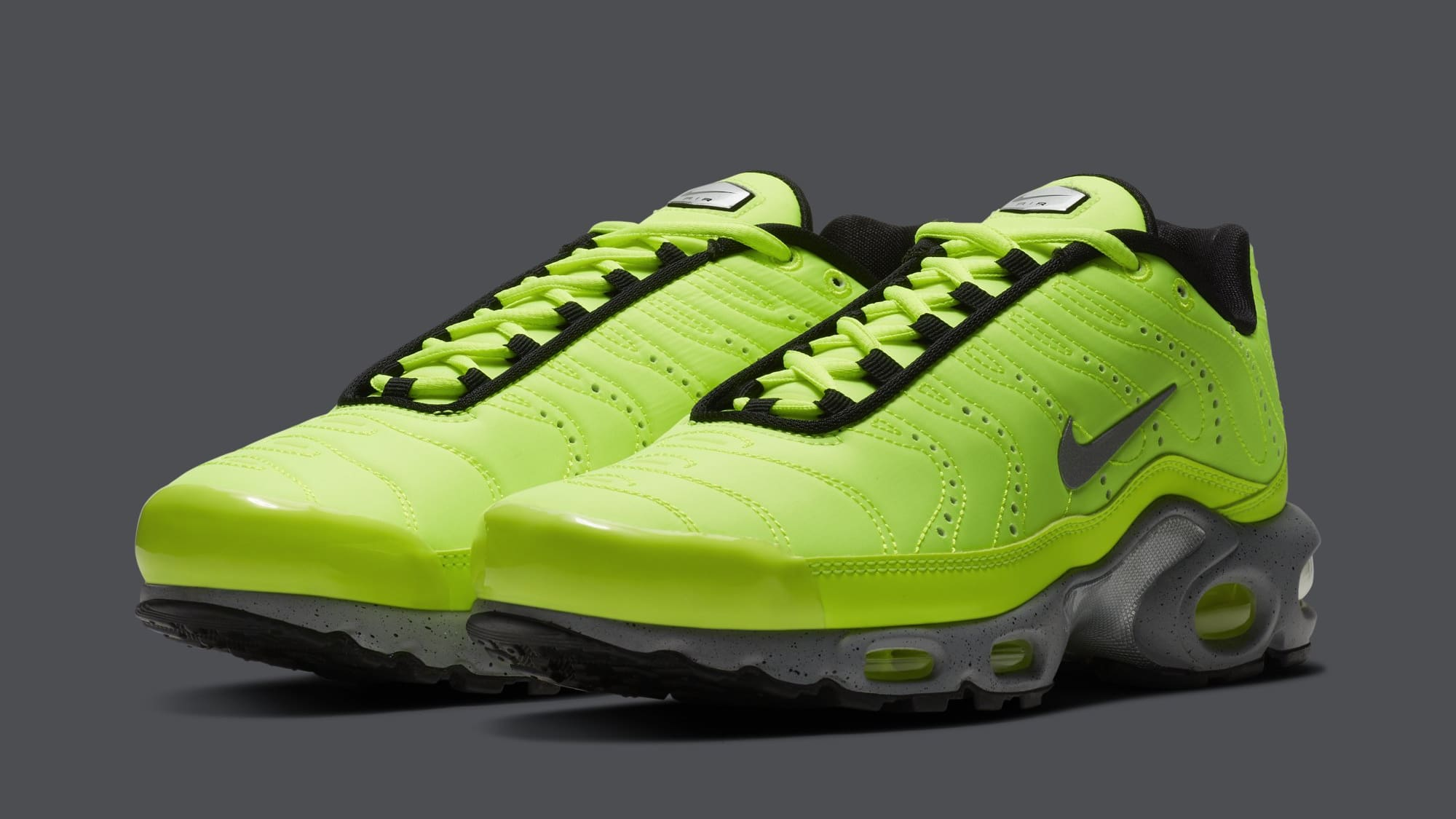 The Air Max Plus Gets Recharged in Volt