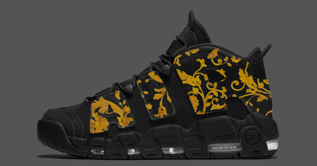 """Concept Lab // Nike Air More Uptempo """"Versace"""""""