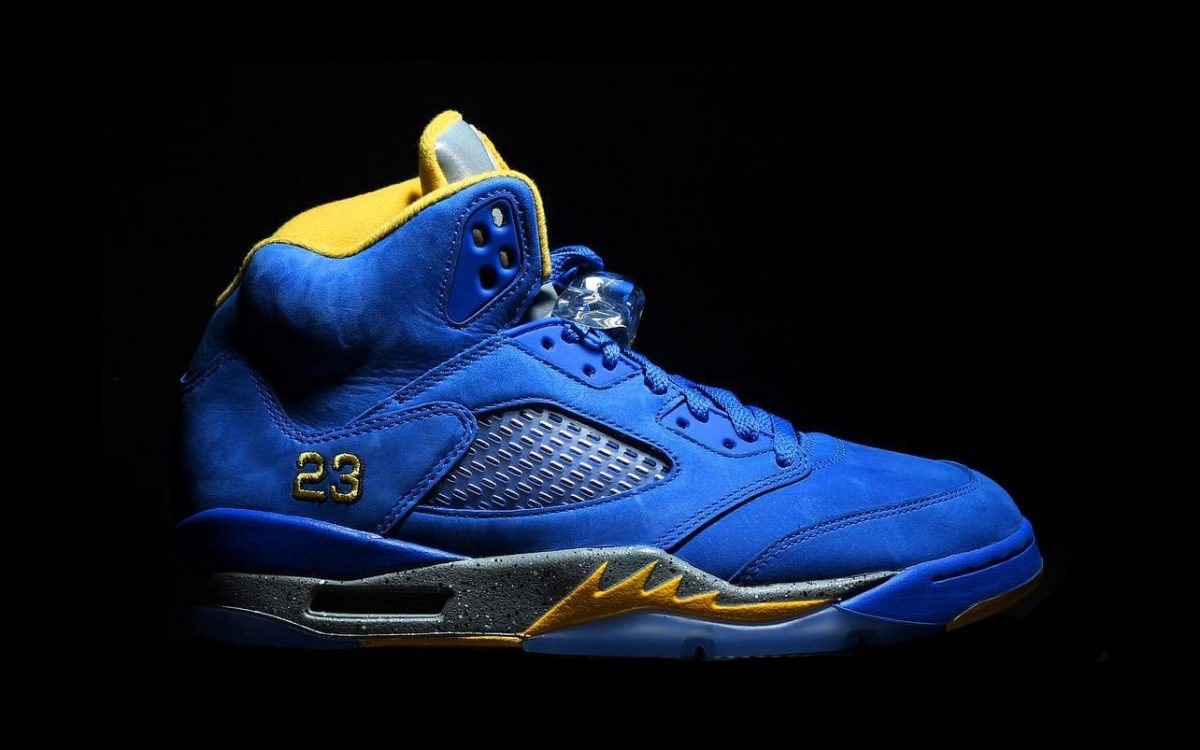 "Detailed Looks at the New ""Laney"" Air Jordan 5"