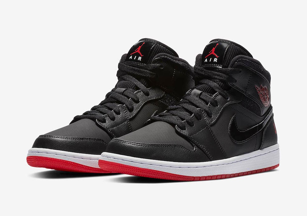 """Available Now // Air Jordan 1 Mid """"Bred"""""""