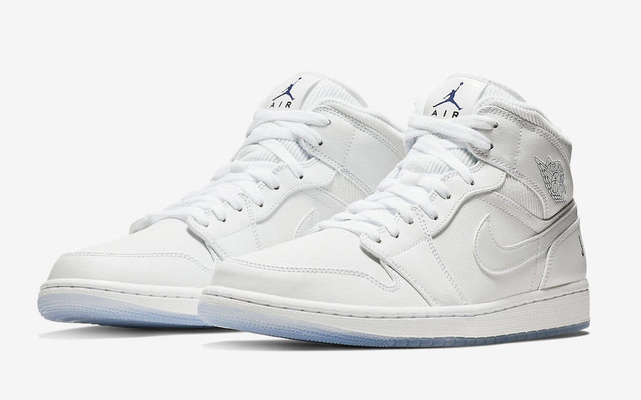 """Available Now // Air Jordan 1 Mid """"White Ice"""""""