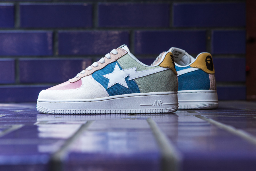 Bespoke are Back With an All-New Bapesta Air Force 1