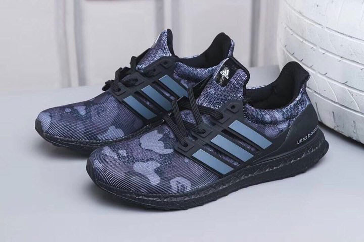 "First Look // Bape x adidas Ultra BOOST ""Black Camo"""