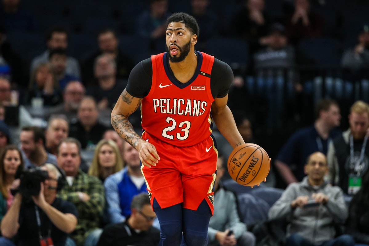 REPORT // Anthony Davis Open to Potential Deal to Celtics