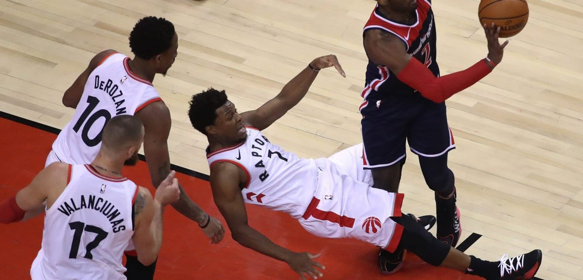 Kyle Lowry Says Taking Charges is his 'Energizing Play'