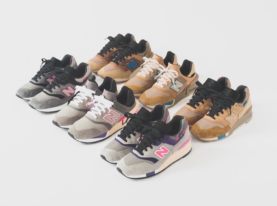 The KITH x New Balance Collection Arrives Next Week!