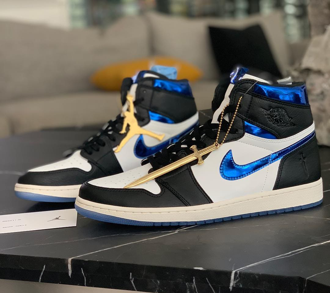 Cancer Patient Millad Mesriani Shares His Exclusive Air Jordan 1 PEs Along With His Inspiring Story