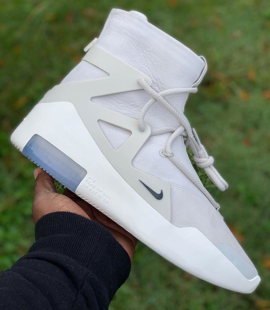 "Detailed Look // Nike Air Fear of God ""Light Bone"""