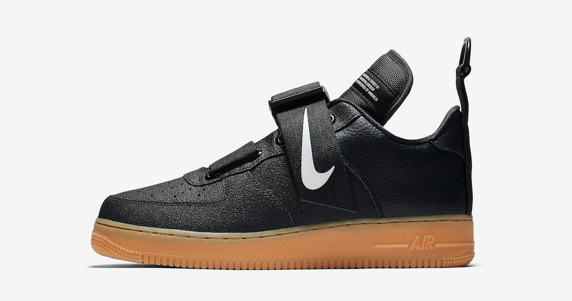 The Black and Gum Nike AF1 Utility is Almost Here!