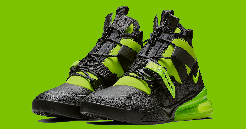 The Air Force 270 Utility Gets Fully Charged