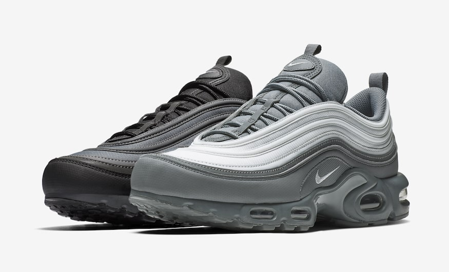 The Hybrid Air Max Plus 97 Arrives in Two Monochrome Colorways