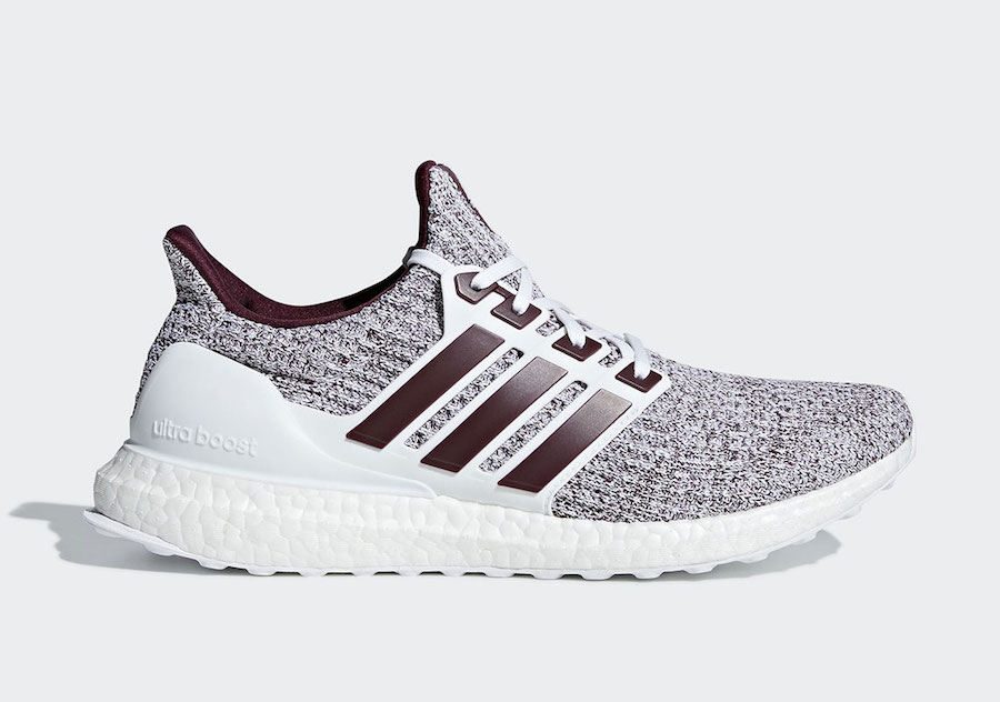 White and Burgundy Hit the Ultra BOOST 4.0 for Fall