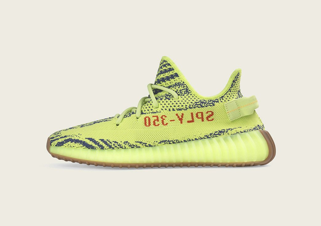 "Where to Buy This Weekend's ""Semi-Frozen Yellow"" YEEZY 350 V2 Restock!"