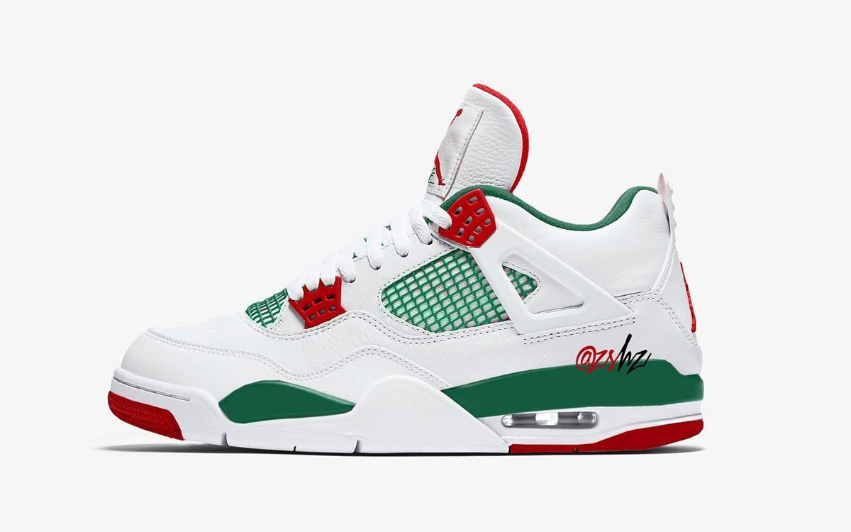 These Two Air Jordan 4s Pay Homage to Sal's Pizzeria from Spike Lee's 'Do the Right Thing'
