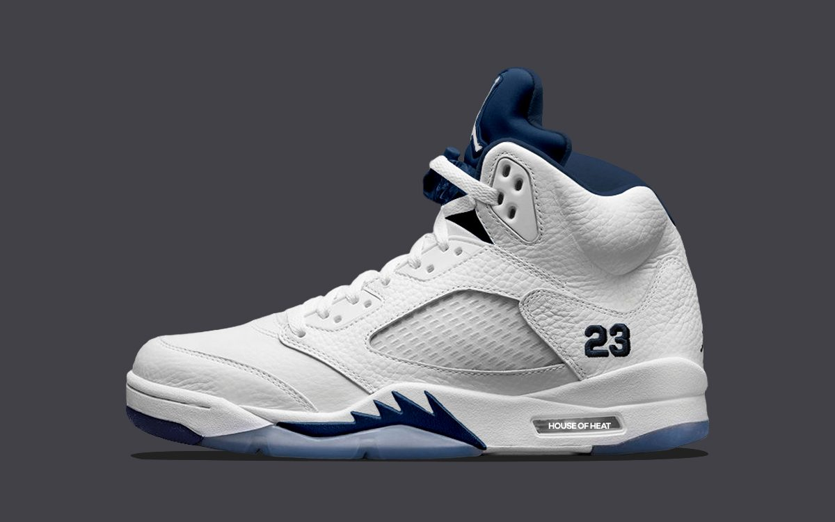 "Concept Lab // Air Jordan 5 ""Midnight Navy"""