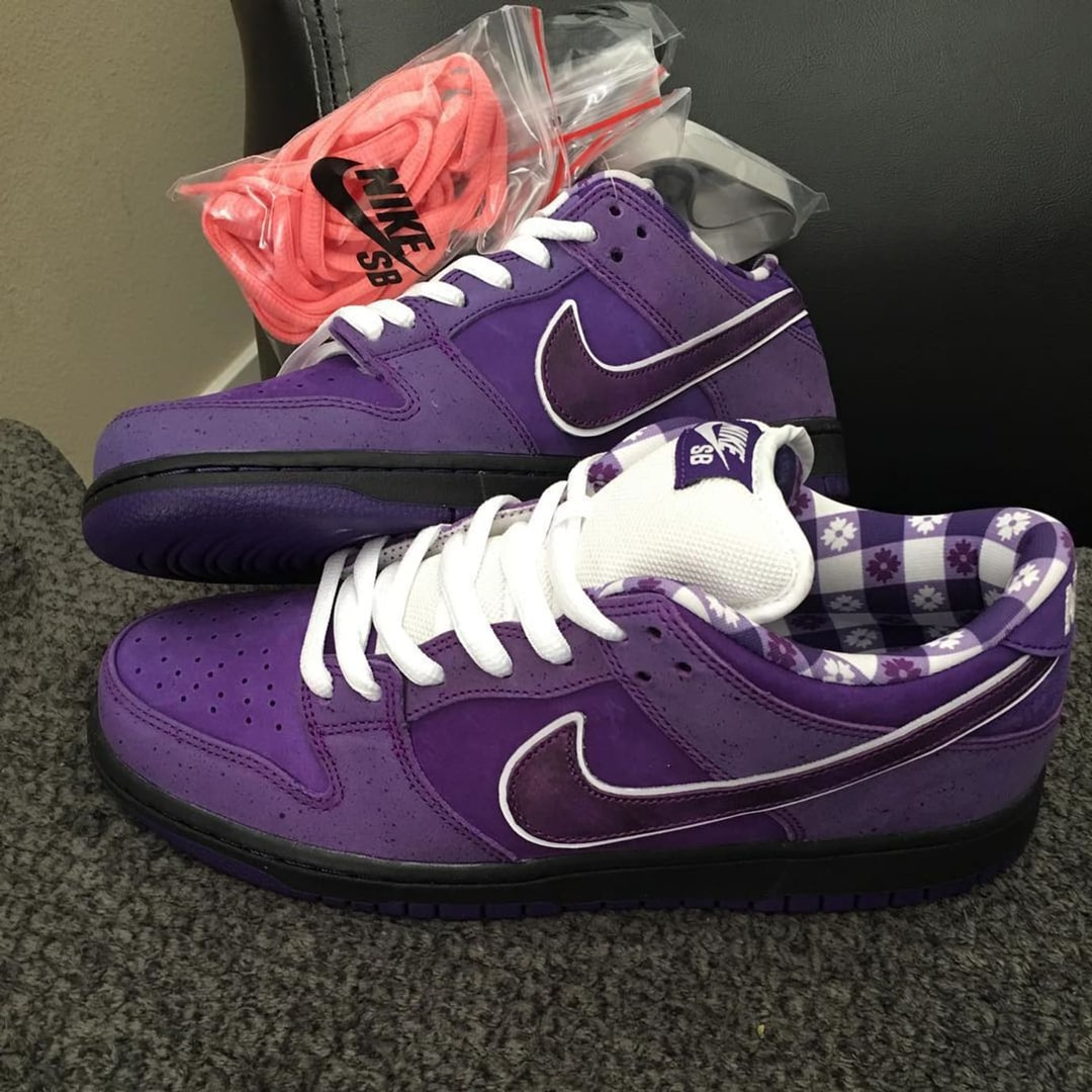 """Your Best Look Yet at the Concepts x Nike SB Dunk """"Purple Lobster"""""""