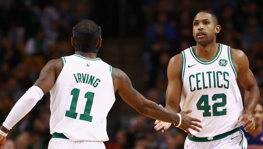 Kyrie Irving Actually Forgot that Al Horford is on the Celtics Roster