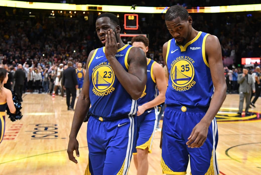 """Draymond Green Called Kevin Durant a """"Bitch"""" During On-Court Confrontation"""
