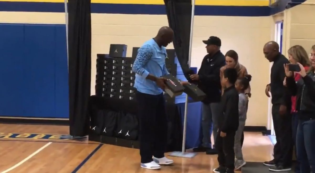 MJ is Handing out Free Sneakers, Turkey Dinners in His Hometown for Thanksgiving