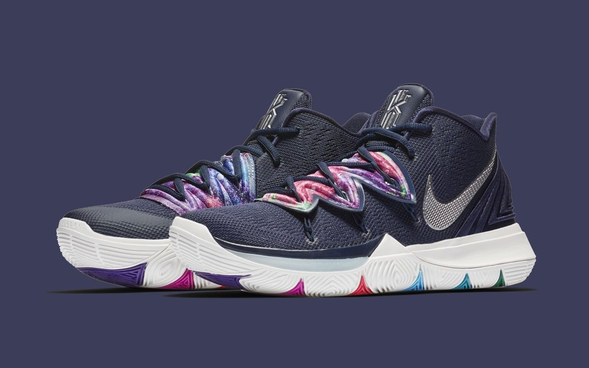 There's a New Nike Kyrie 5 in Navy on the Way!