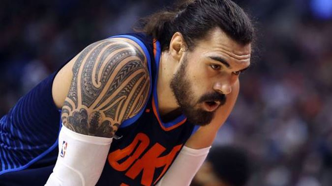VIDEO // Cavs Announcers Ridicule Steven Adams Over Dunk Attempt