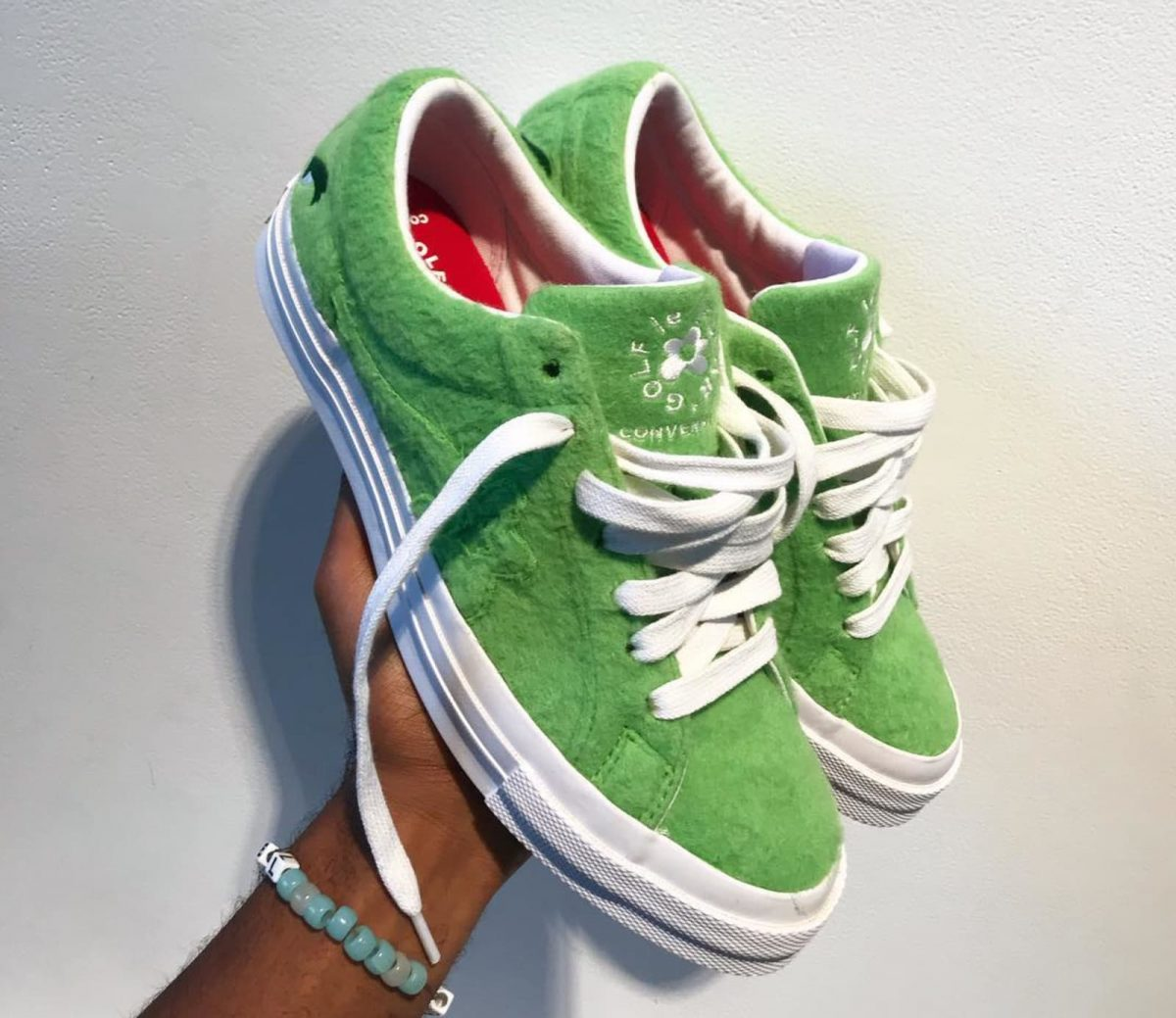 "Tyler, the Creator Teases ""Grinch"" Converse Collab"