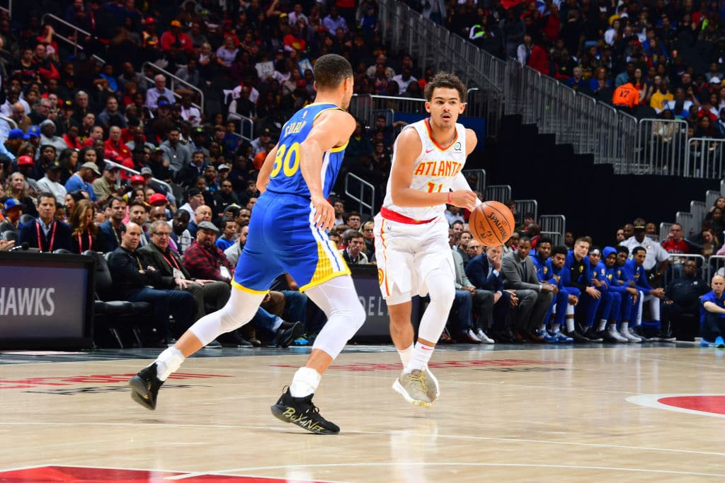 """Stephen Curry Says the Trae Young Comparisons are """"Getting Old, to Be Honest"""""""