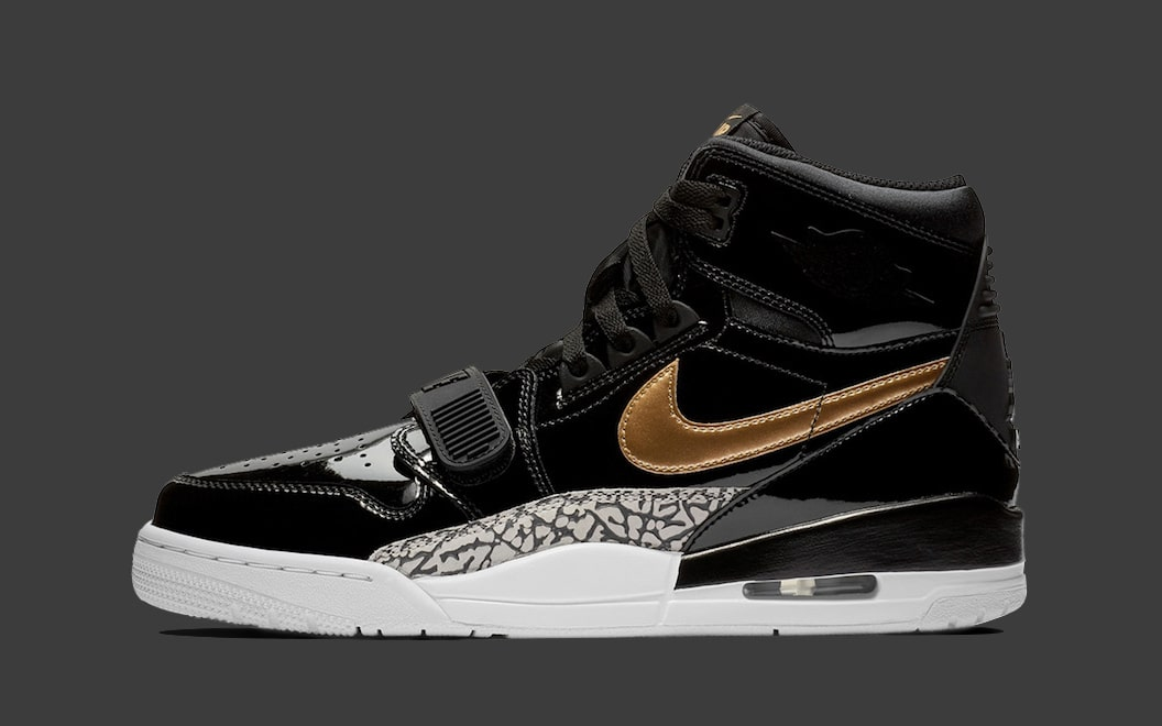 The Jordan Legacy 312 Gets the Patent Leather Treatment