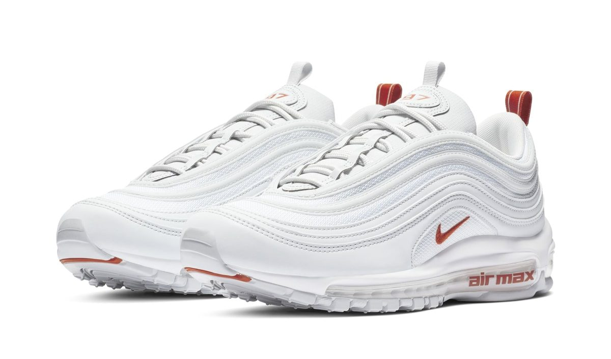 The Air Max 97 Arrives in White and Orange