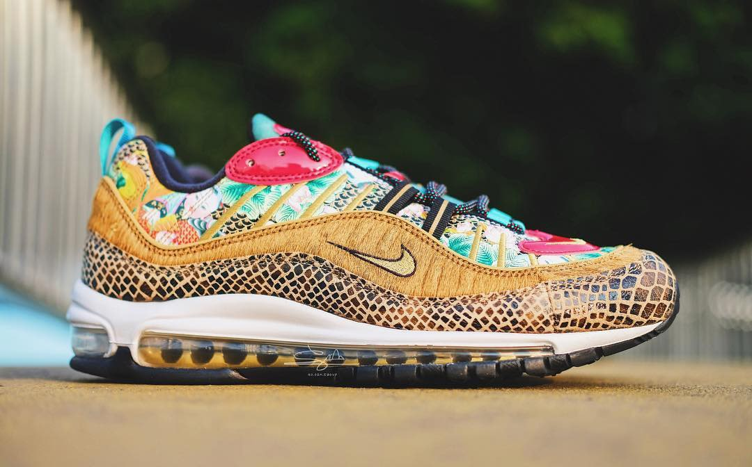 Detailed Looks at the Chinese New Year Air Max 98
