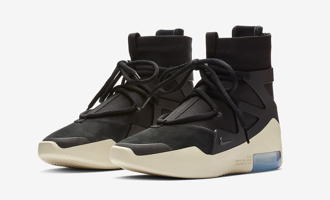 Official Looks at the Black Nike Fear of God 1