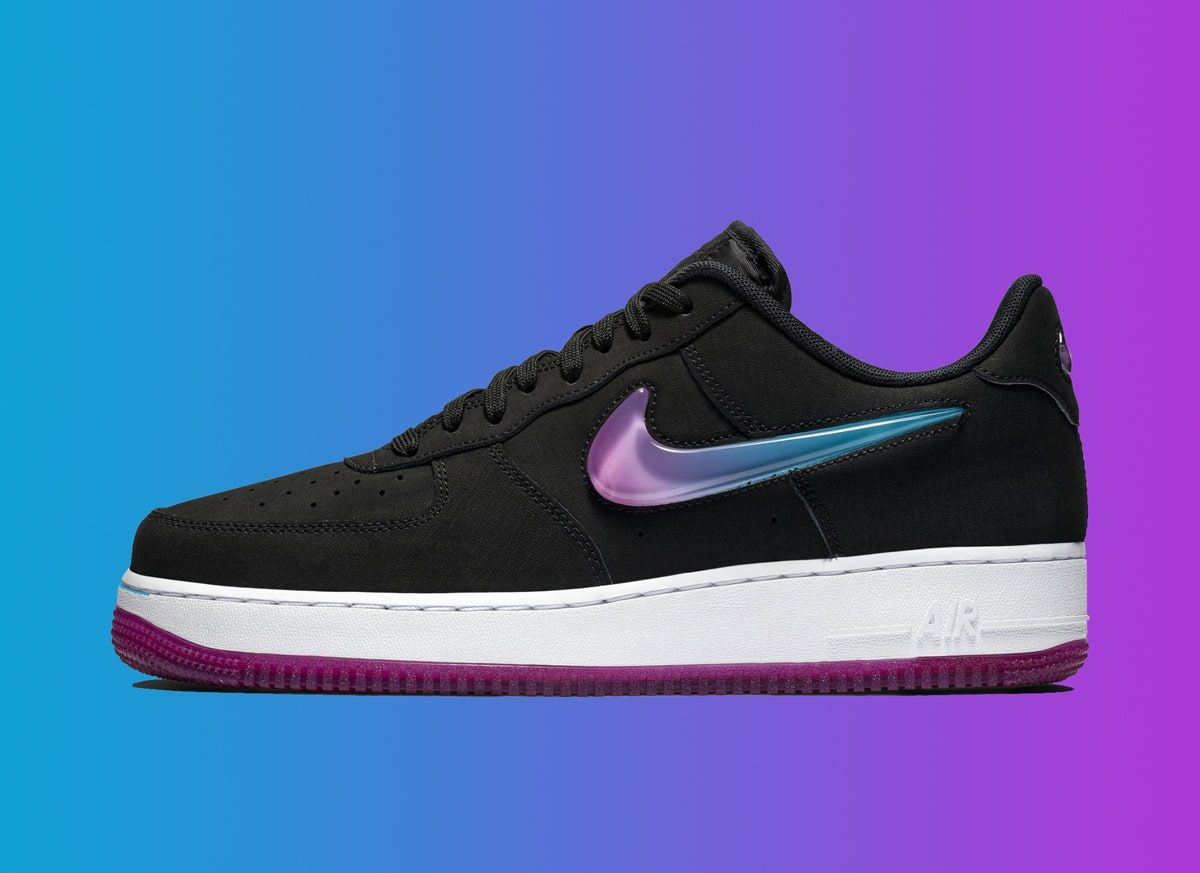 This Big-Jeweled Air Force 1 Has Some Serious PlayStation Vibes