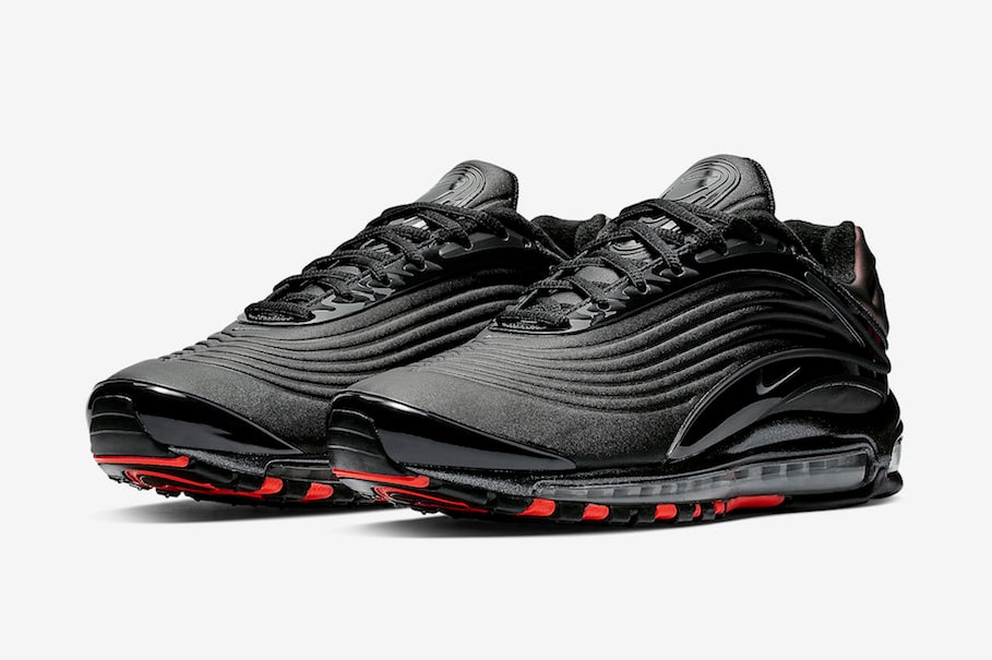 The Nike Air Max Deluxe Goes Bred