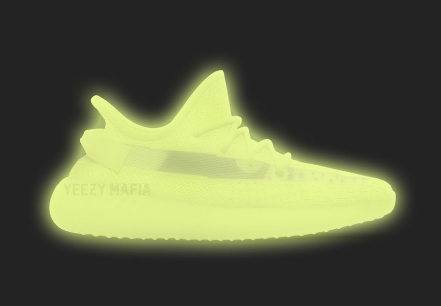The Two Glow-in-the-Dark YEEZY 350s are Nearing Release!
