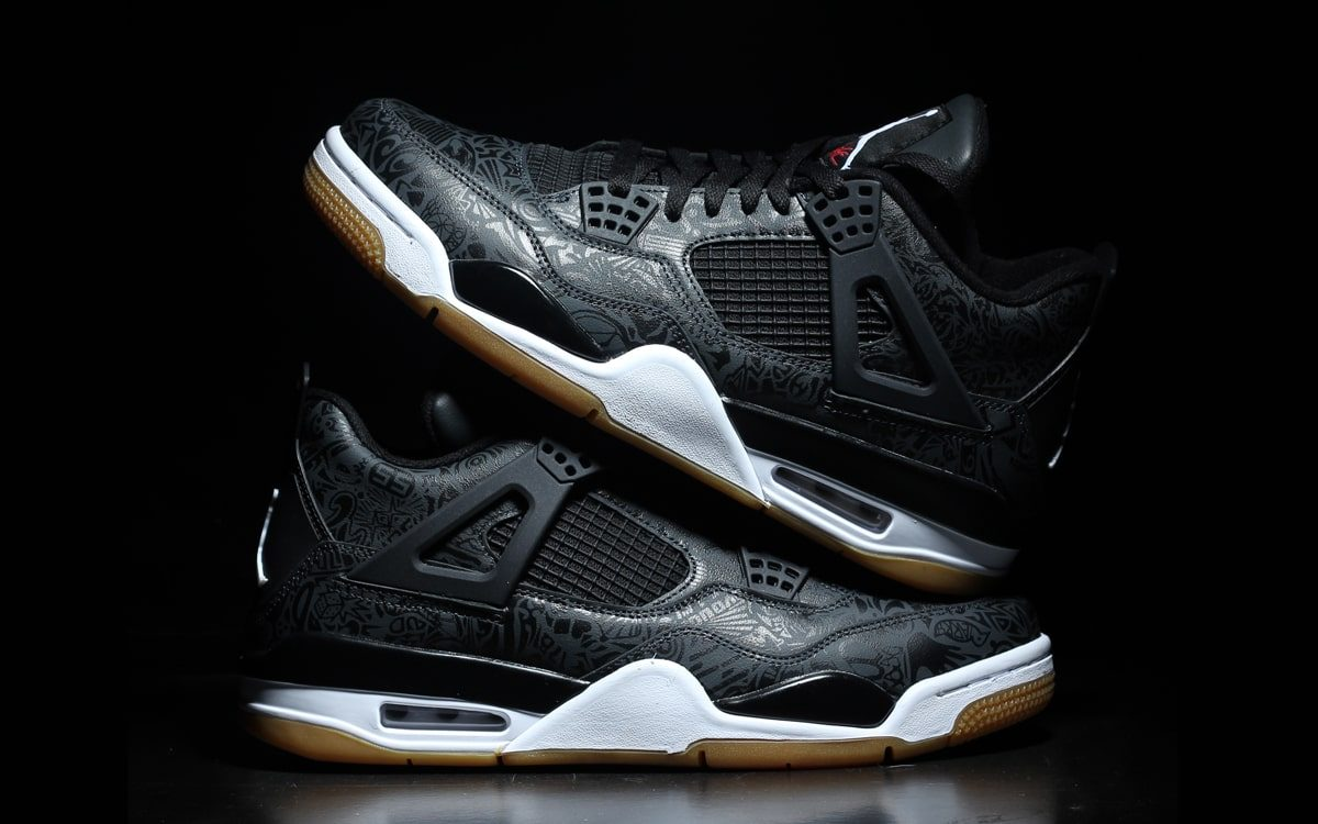 First Looks at Next Month's Black and Gum Air Jordan 4