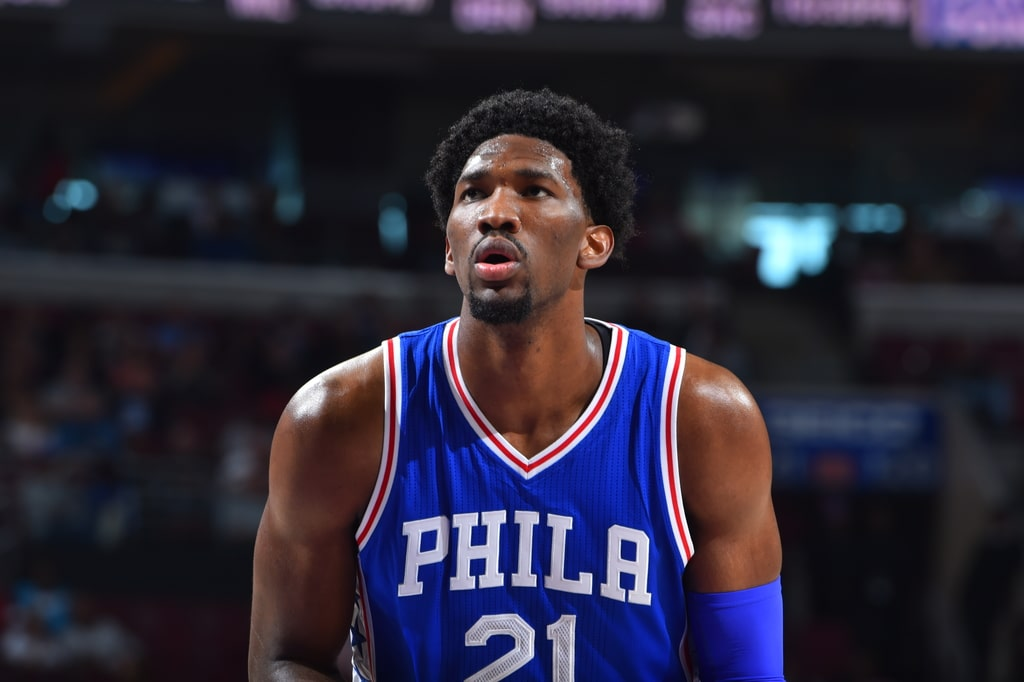 76ers and Joel Embiid Getting into Bizarre 'Trust the Process' Trademark Beef