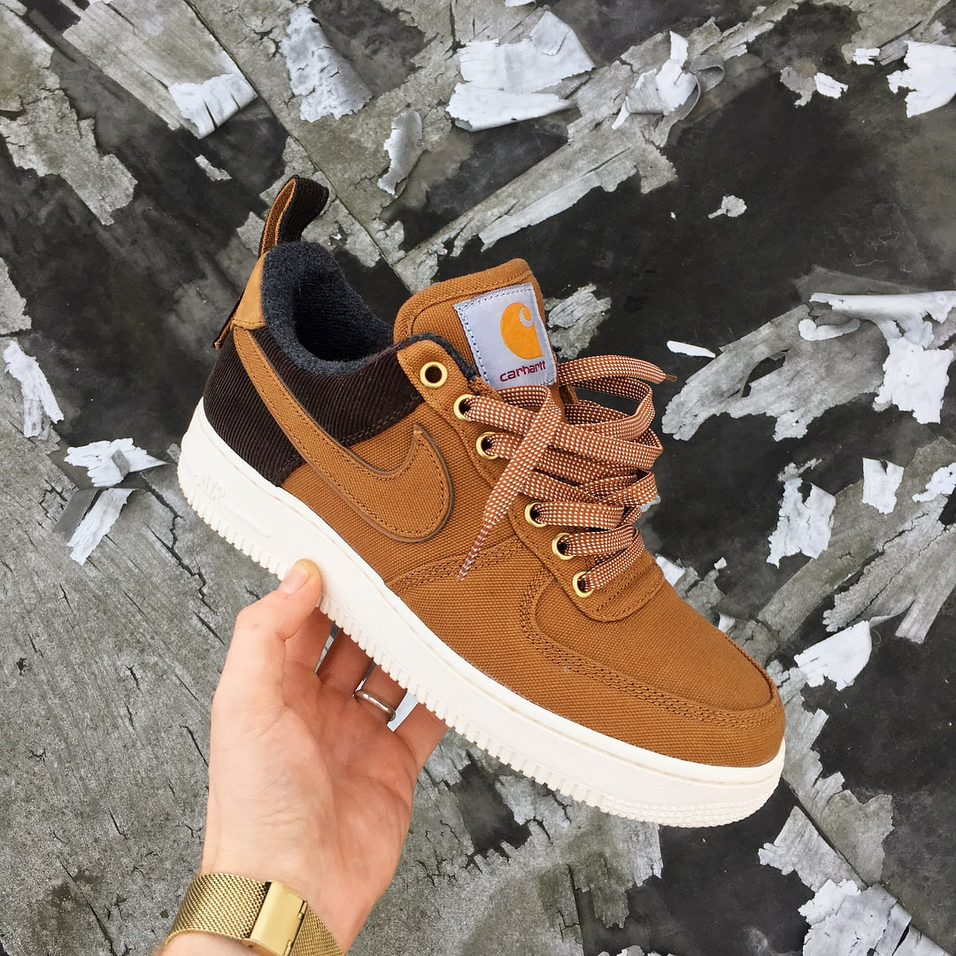 Where to Buy // Carhartt x Nike Air Force 1 Low